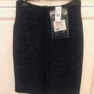 NEW CHANEL SKIRT BLACK SIZE 40